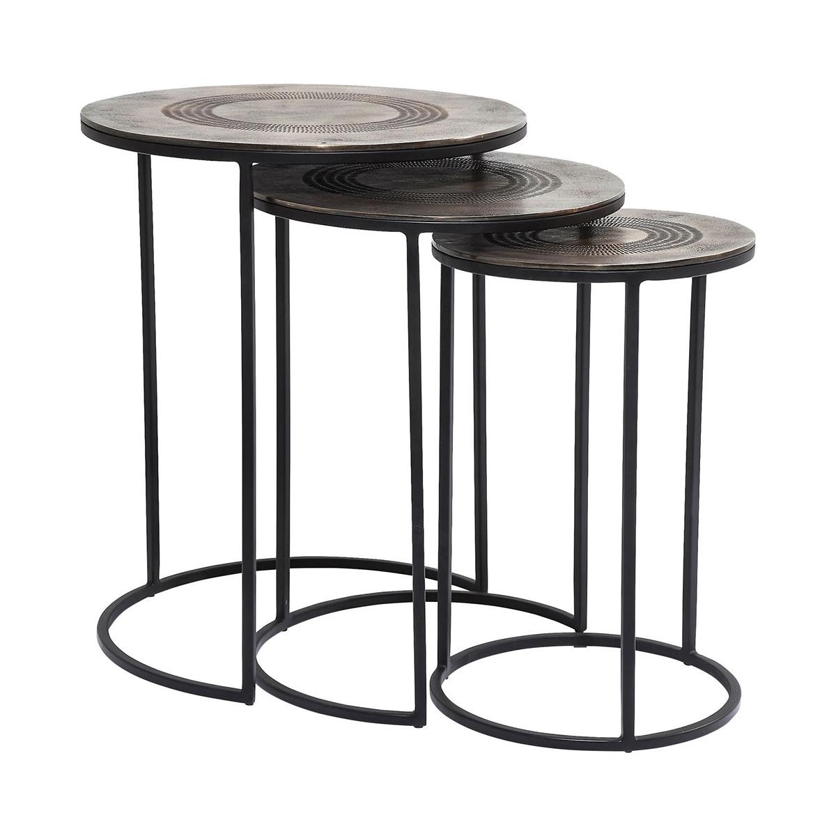 Marrakesh Side Table (3/set) • Woo .design regarding Marrakesh Side Tables (Image 14 of 30)