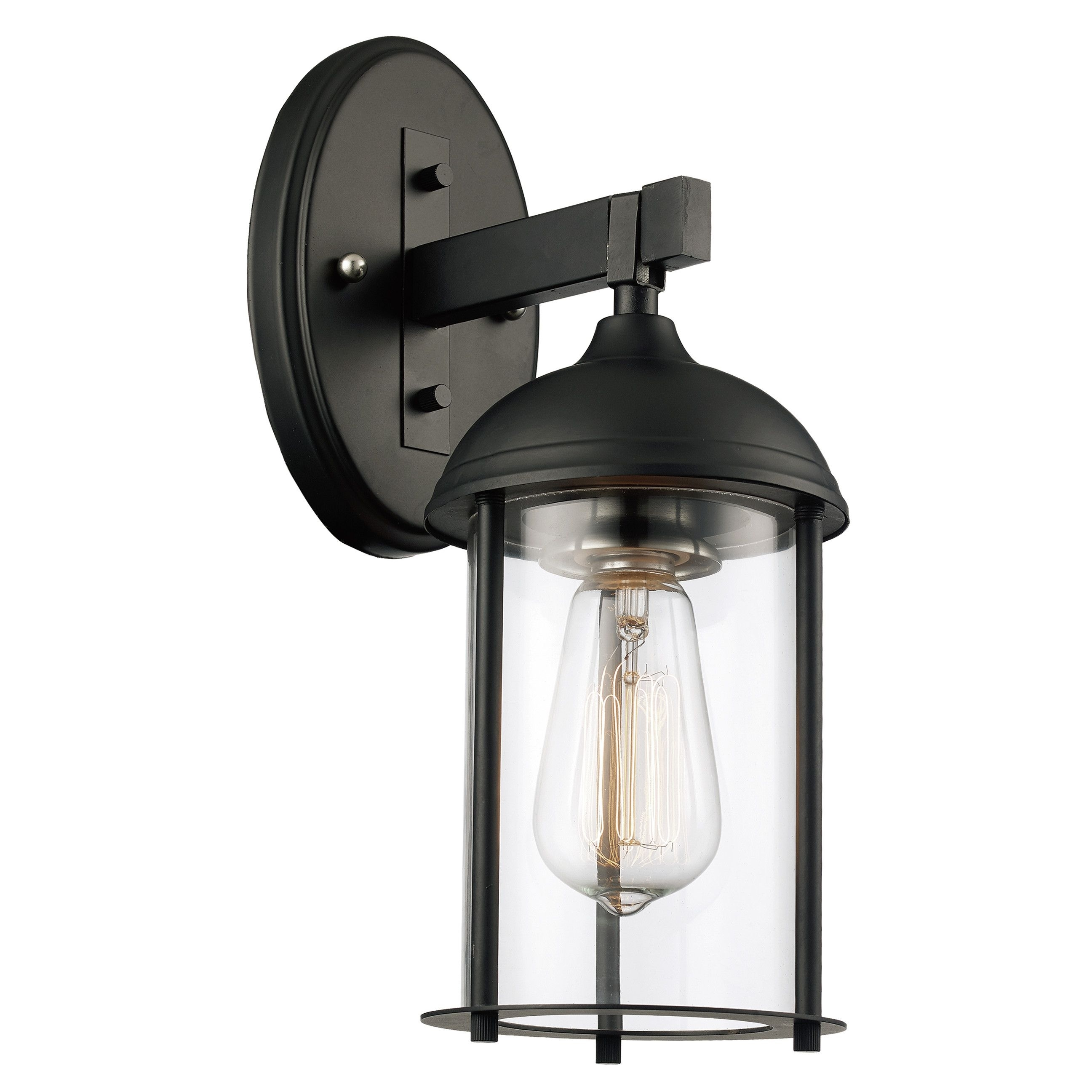 Marshall 1-Light Outdoor Wall Lantern | Outdoor Wall Lantern with regard to Industrial Outdoor Lanterns (Image 9 of 20)
