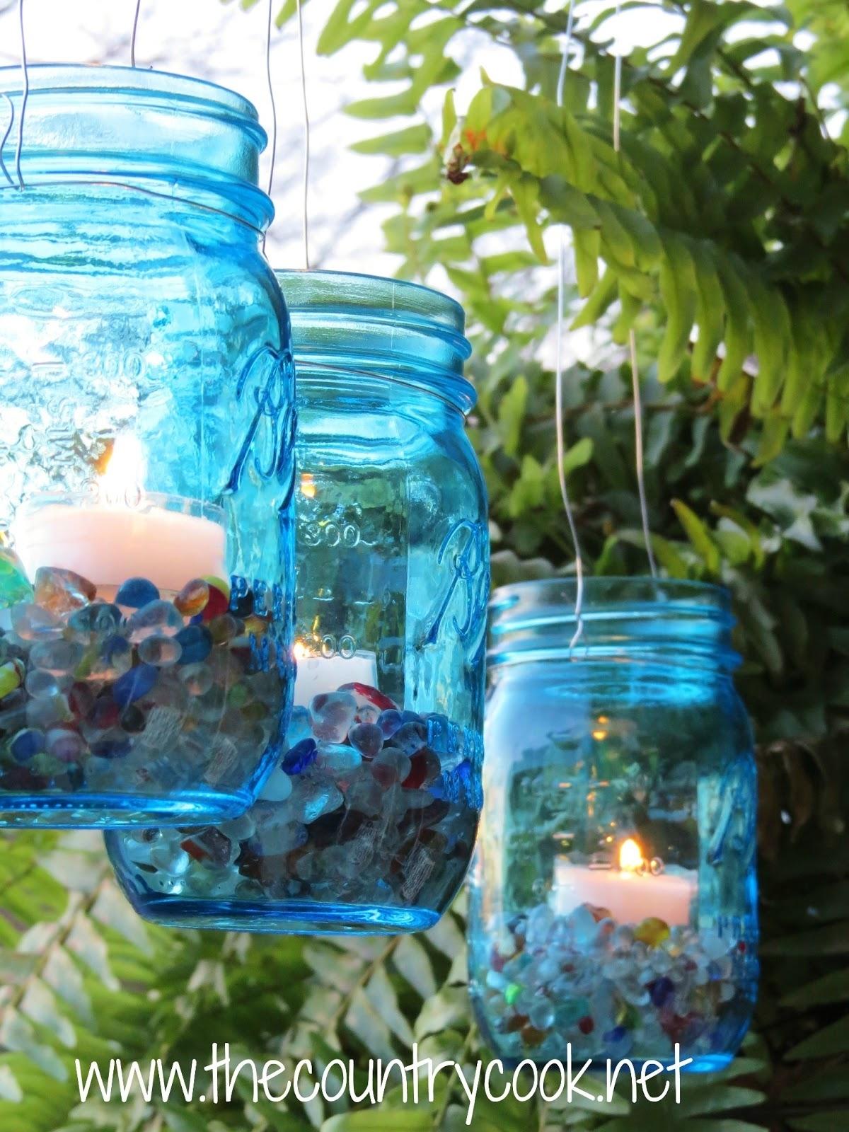 Mason Jar Lanterns - The Country Cook inside Outdoor Jar Lanterns (Image 13 of 20)