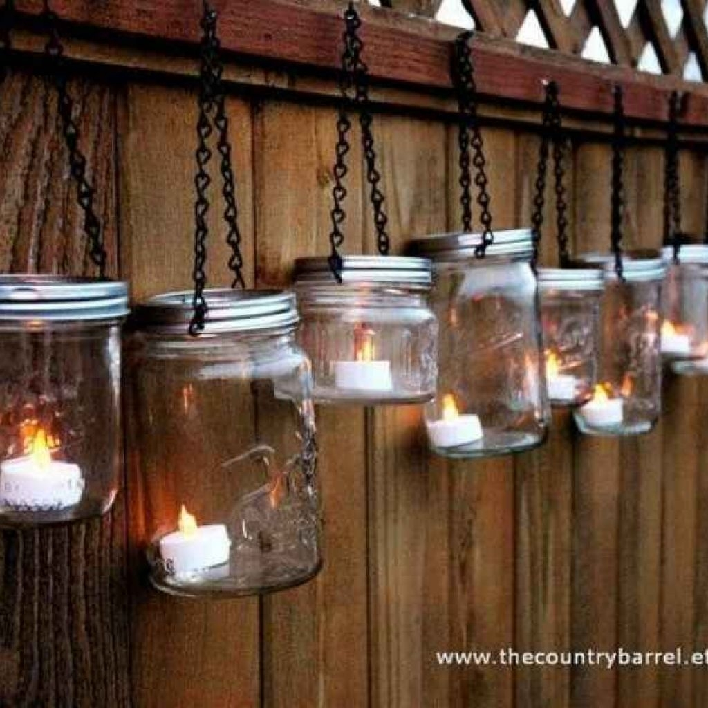 Mason Jar Lights Use Battery Operated Candles For Mason Jar Outdoor With Regard To Outdoor Lanterns With Battery Operated Candles (View 10 of 20)