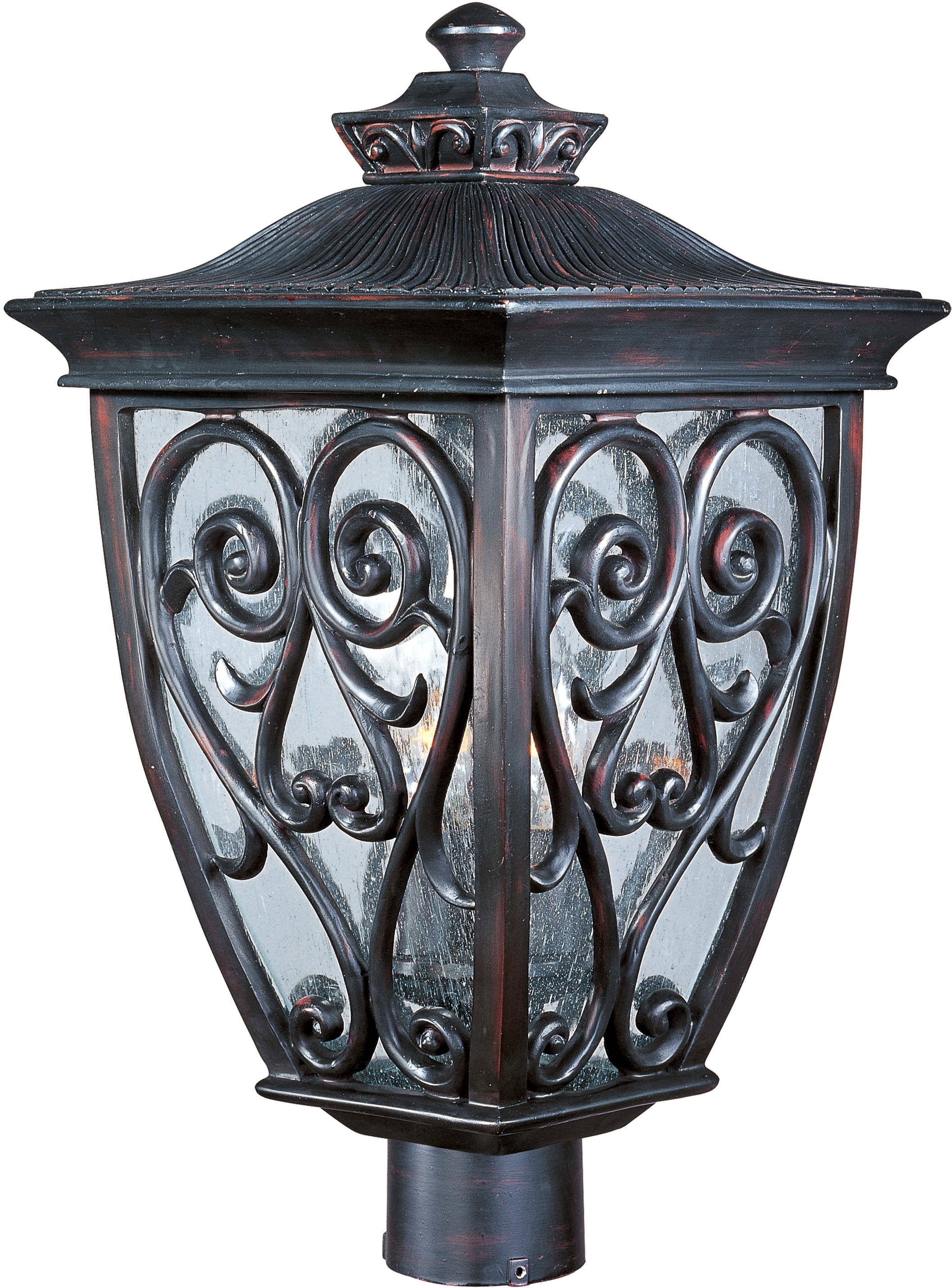 Maxim throughout Outdoor Post Lanterns (Image 8 of 20)