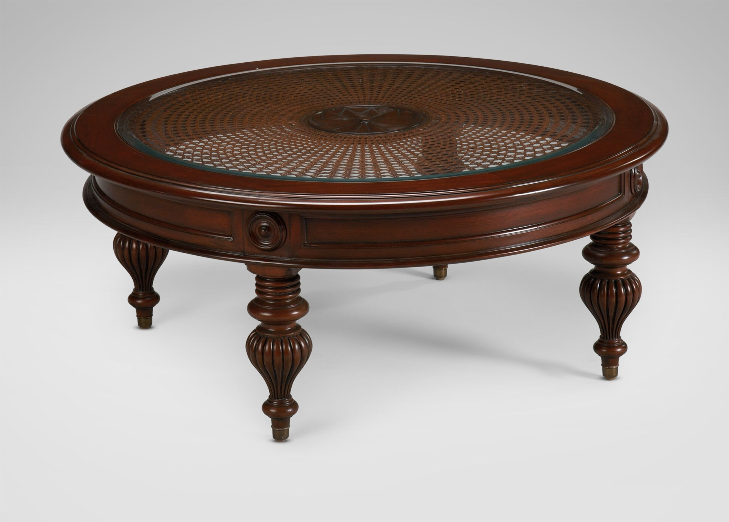 Maya Coffee Table – Ethan Allen Us | West Indies Ideas For The House Pertaining To Stately Acrylic Coffee Tables (View 19 of 30)