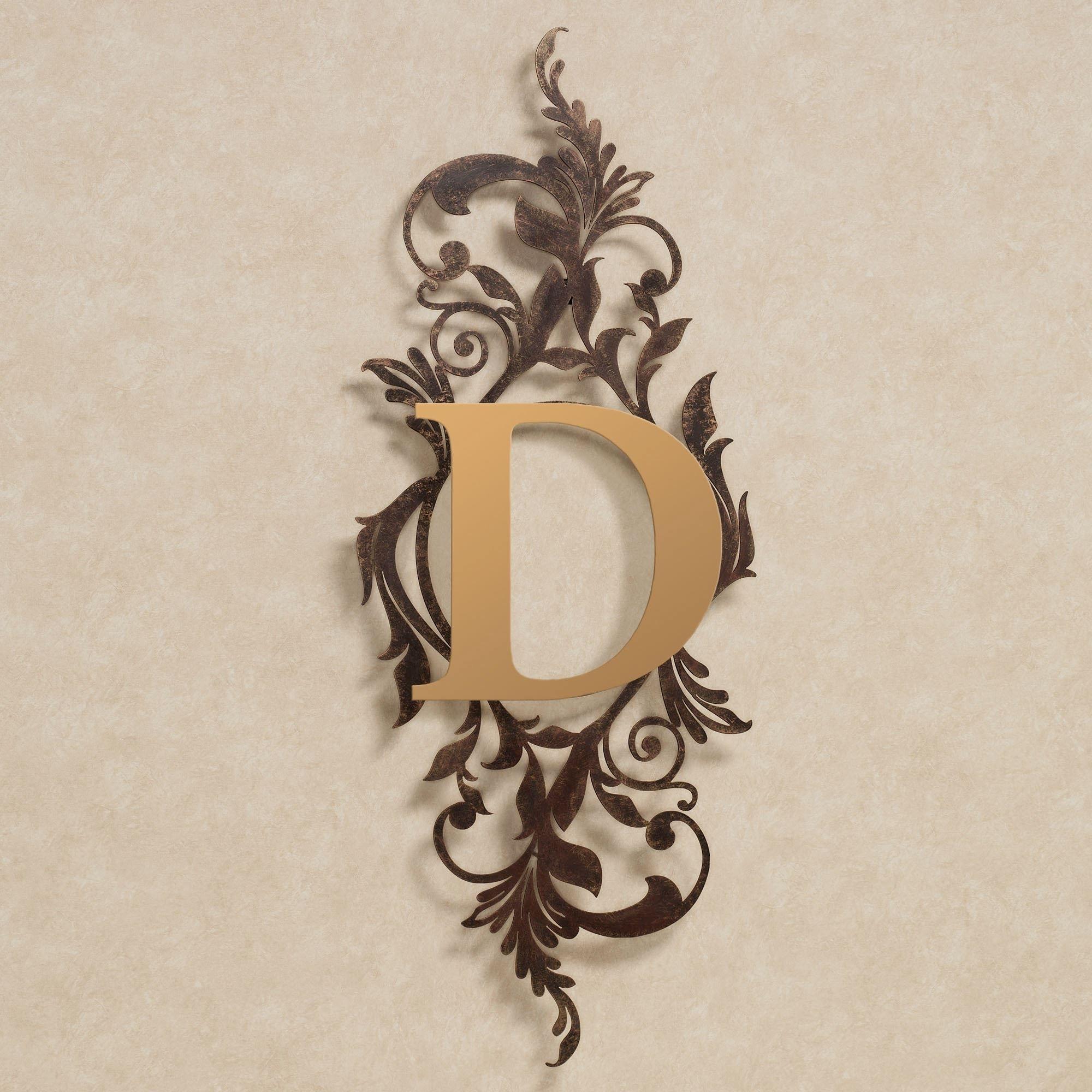 Meglynn Monogram Vertical Metal Wall Art Sign | Pinterest | Metal within Vertical Metal Wall Art (Image 6 of 20)