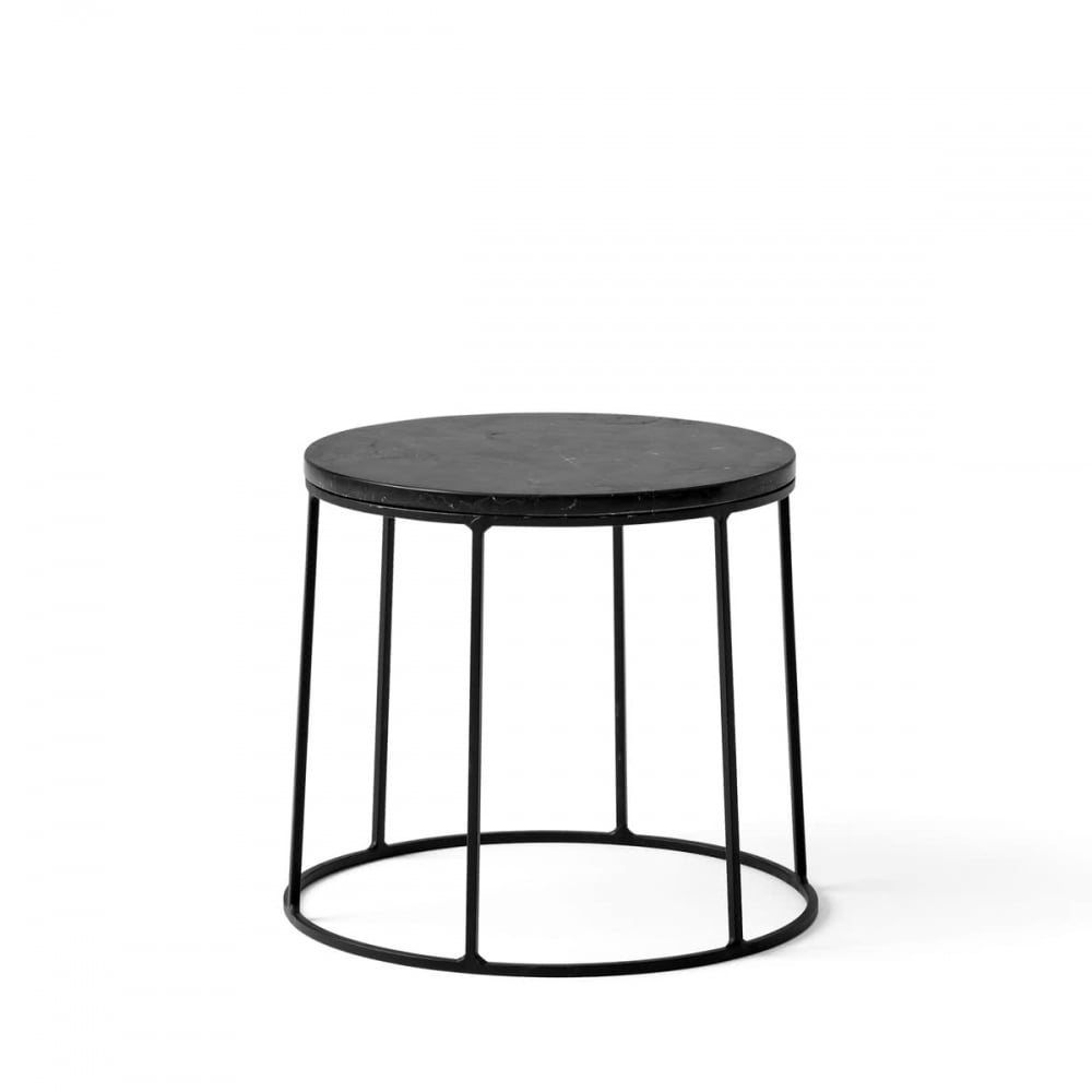 Menu Wire Marble Table | Black | Small | Blackdesign pertaining to Black Wire Coffee Tables (Image 15 of 30)