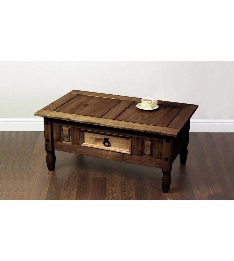 Merida Dark Traditional Coffee Table Rrp £149 | In Neston, Cheshire intended for Traditional Coffee Tables (Image 16 of 30)