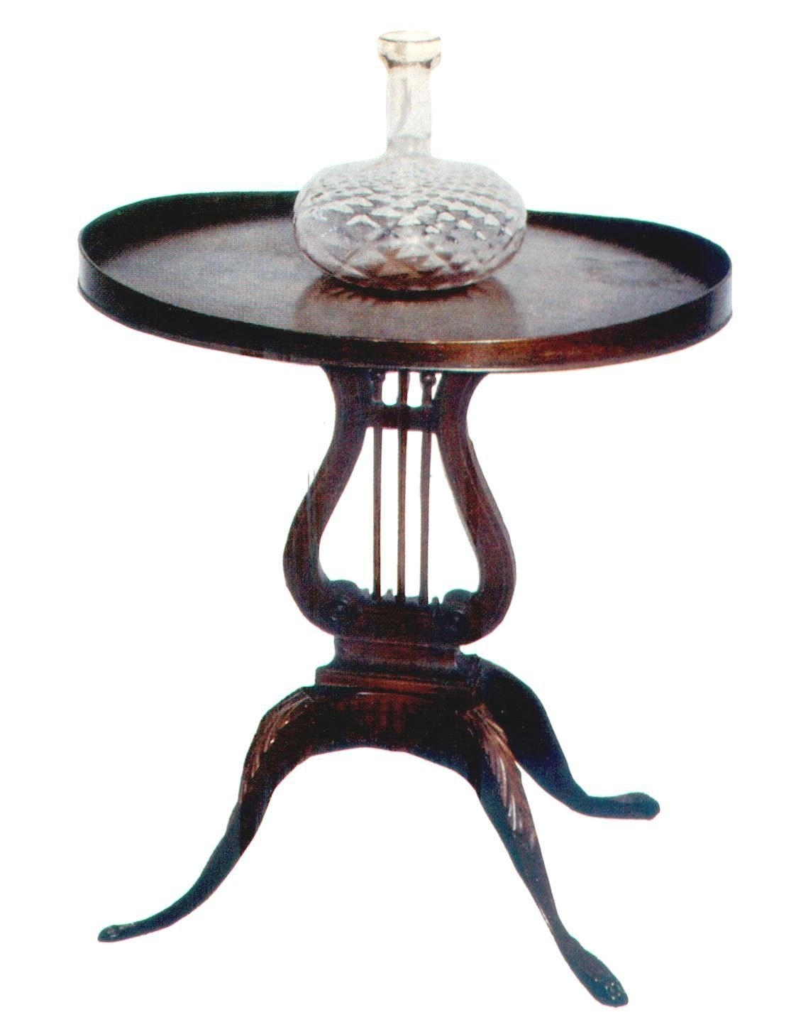 Mersman Lyre Coffee Table - View Here — Coffee Tables Ideas intended for Lyre Coffee Tables (Image 23 of 30)