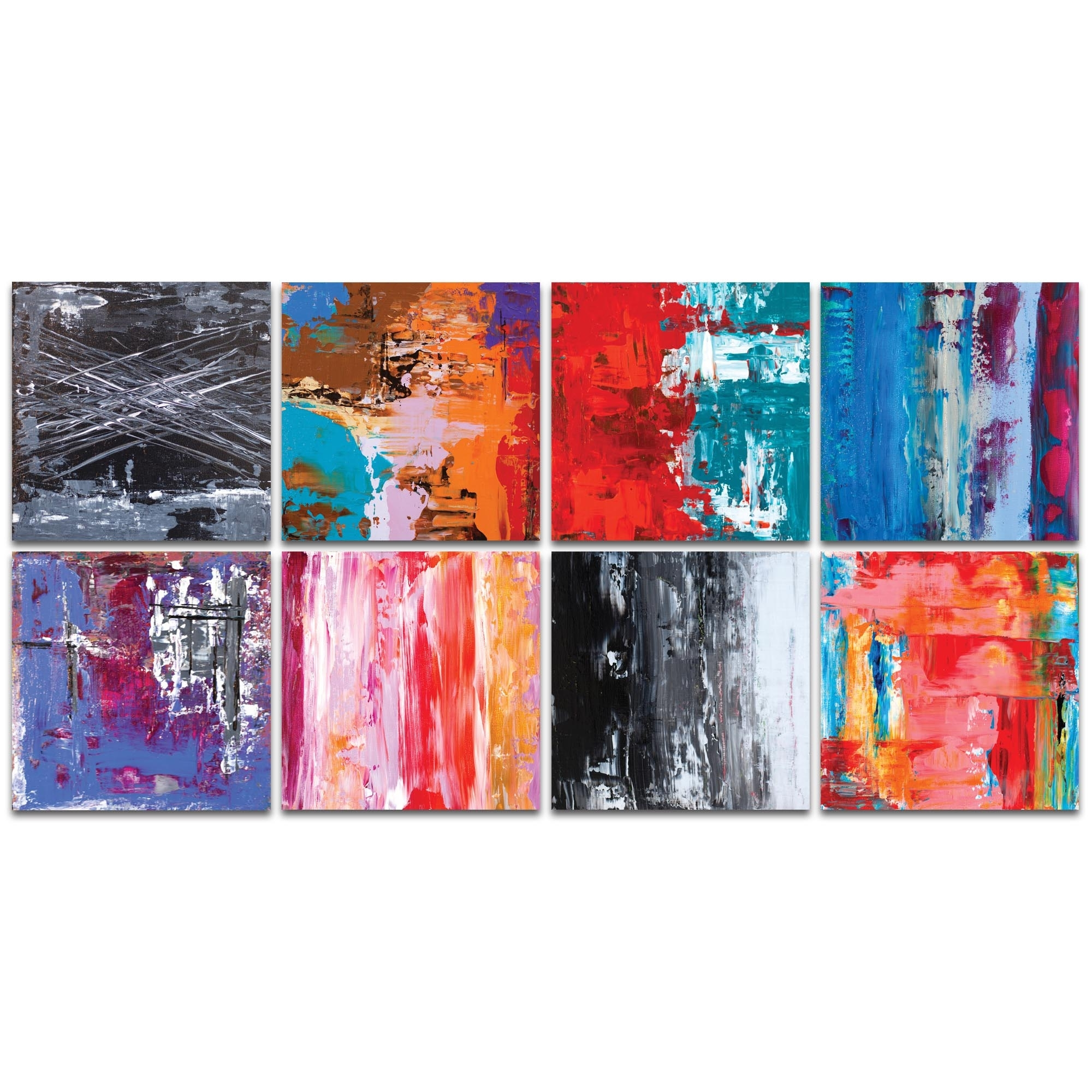 Metal Art Studio - Urban Windows Largeceleste Reiter - Abstract regarding Abstract Wall Art (Image 17 of 20)