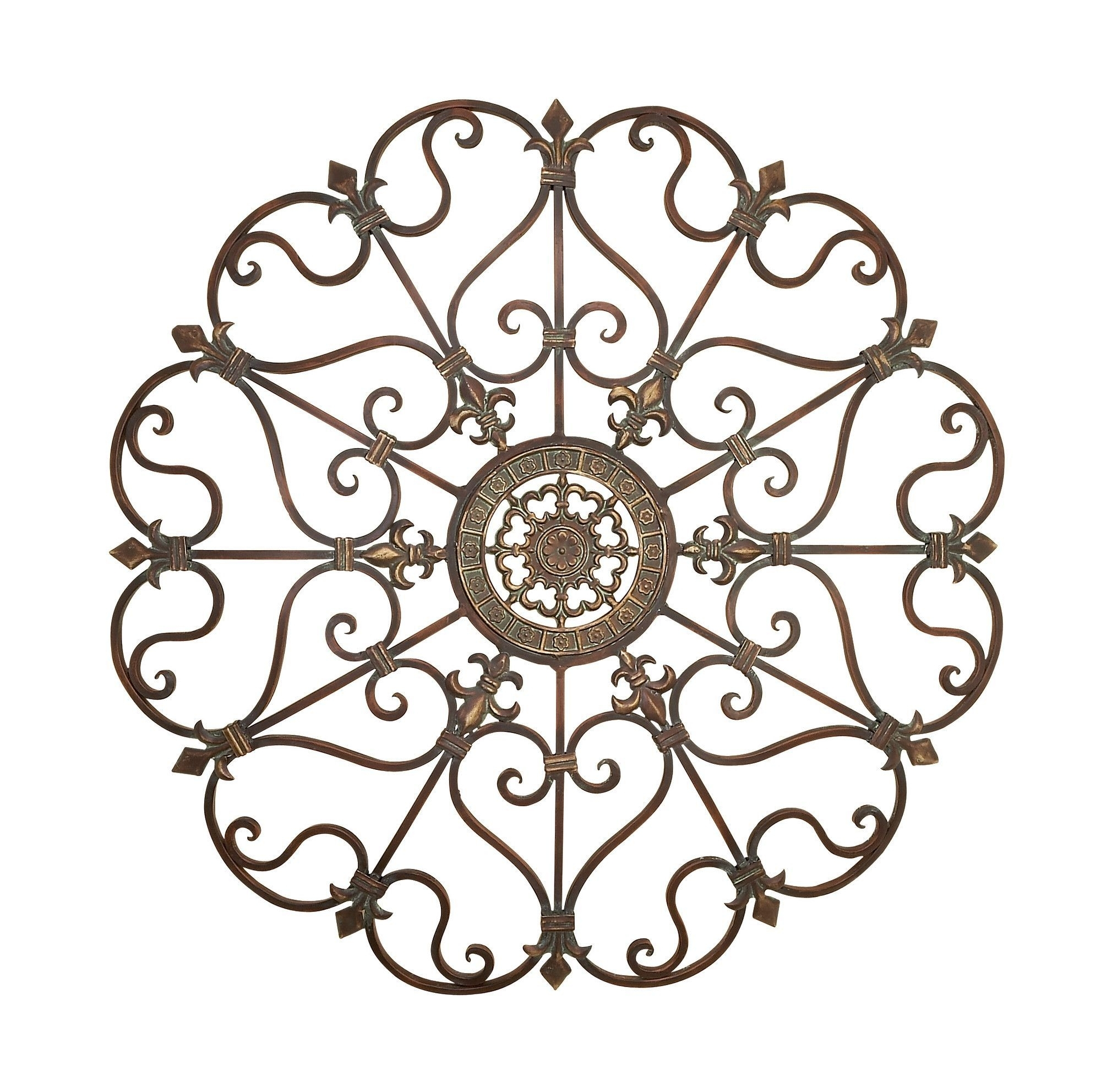 Metal Fleur De Lis Scrolling Wall Décor | Products | Pinterest intended for Metal Scroll Wall Art (Image 10 of 20)