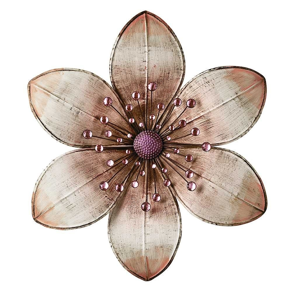 Metal Flowers – Google Search | Crafts | Pinterest | Metal Flower With Regard To Metal Flowers Wall Art (View 2 of 20)