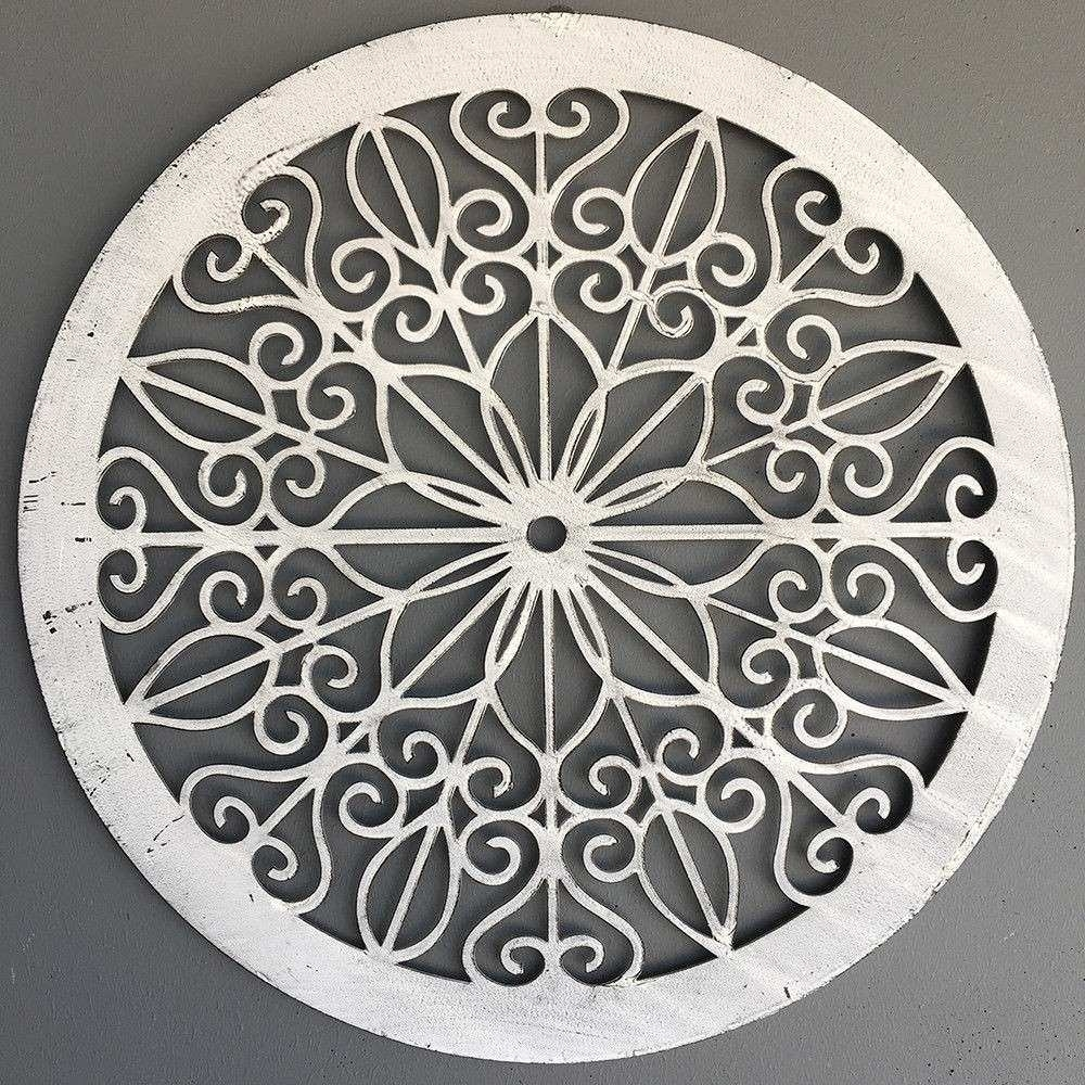 Metal Outdoor Wall Decor New Decorative Round Metal Wall Panel Within Metal Outdoor Wall Art (View 15 of 20)