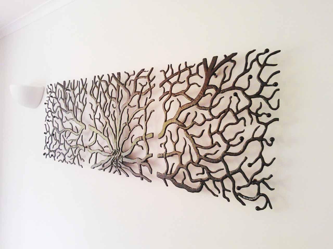 Metal Tree Wall Art Decor Wallartideasinfo, Wall Art Tree - Swinki pertaining to Metal Wall Art Trees (Image 6 of 20)