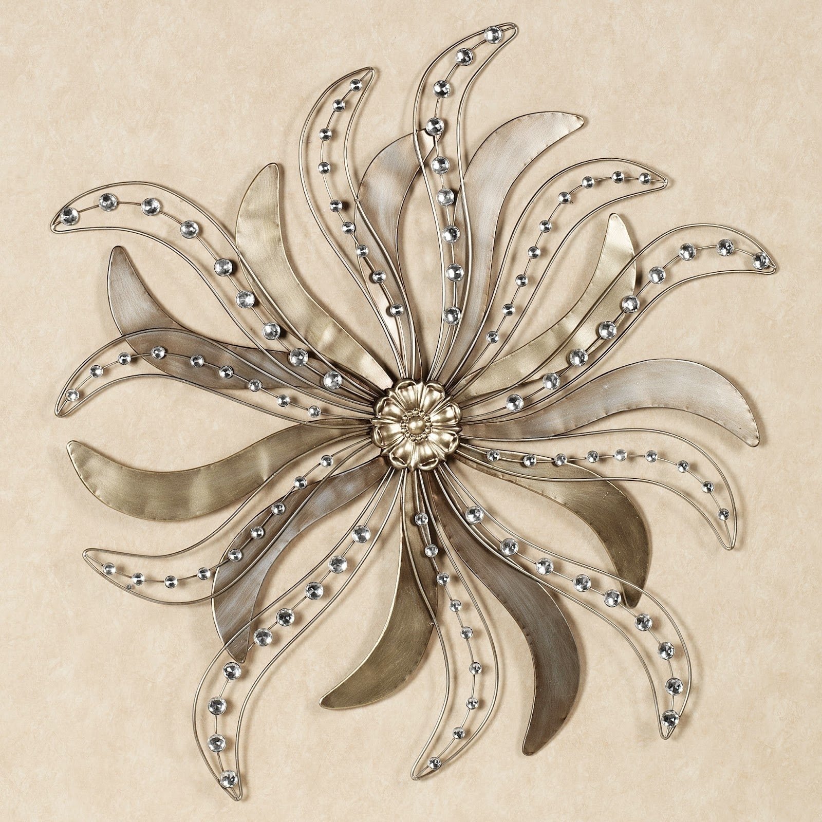 Metal Wall Art Amazon : The Lucky Design - Unique Material pertaining to Silver Metal Wall Art (Image 7 of 20)