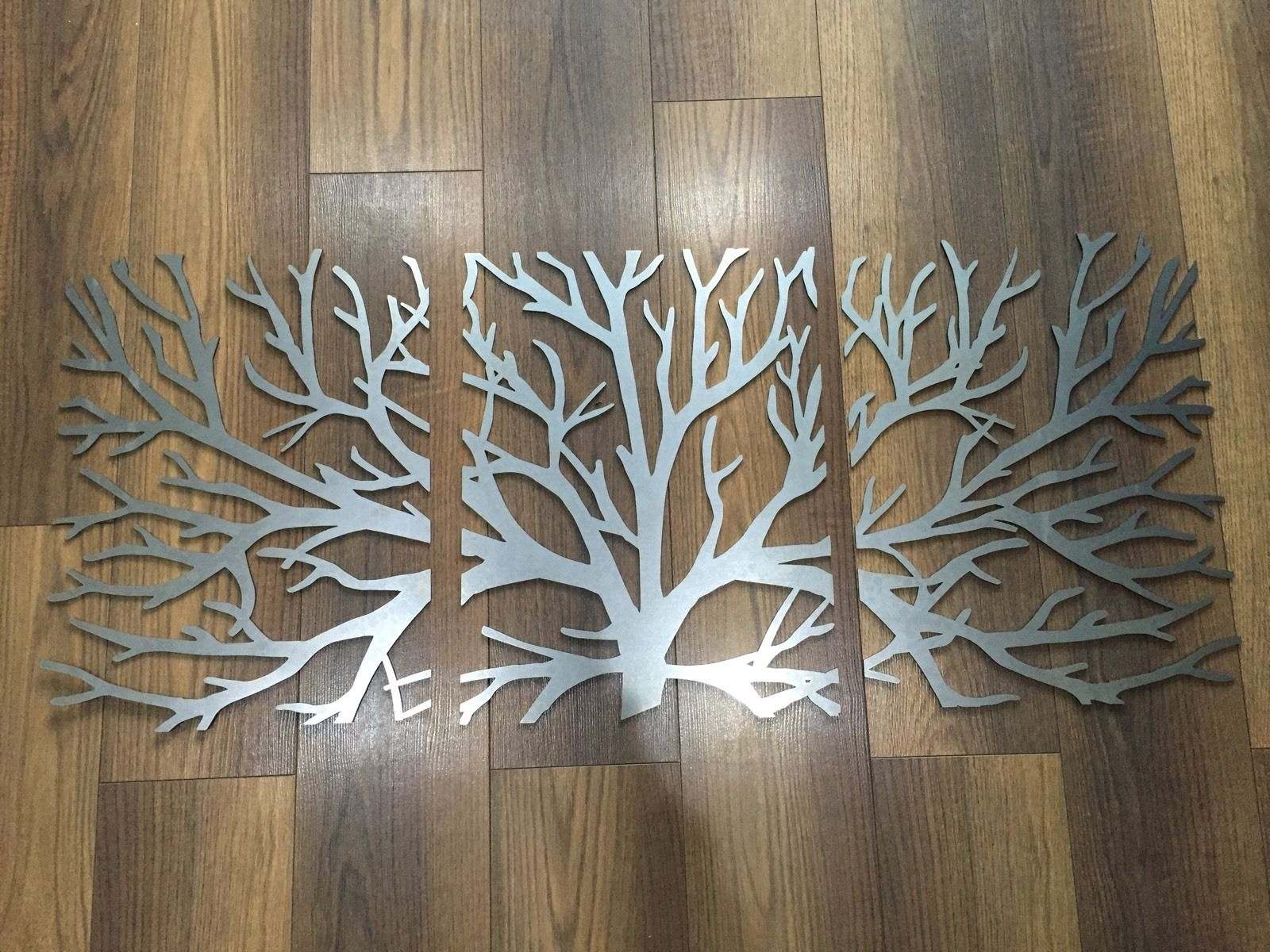 Metal Wall Art Decor And Sculptures Wooden Metal Wall Art Tree Wall for Metal Wall Art Sculptures (Image 9 of 20)