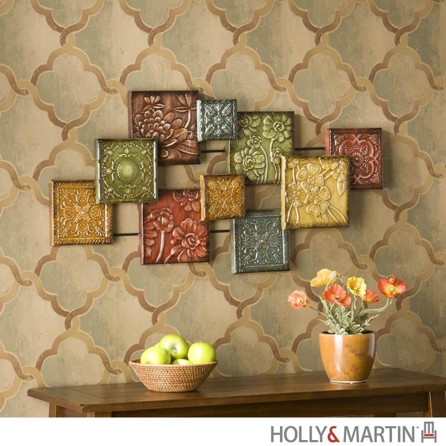 Metal Wall Art For Modern Home Inoutinterior, Tuscan Wall Decor Intended For Tuscan Wall Art (View 8 of 20)