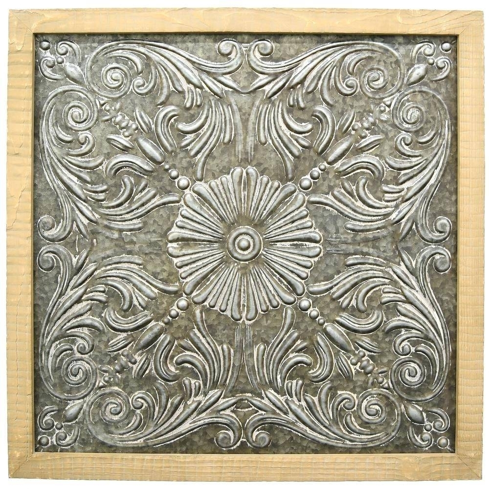 Metal Wall Decor Hobby Lobby As Decorative Wall Clocks throughout Hobby Lobby Metal Wall Art (Image 13 of 20)