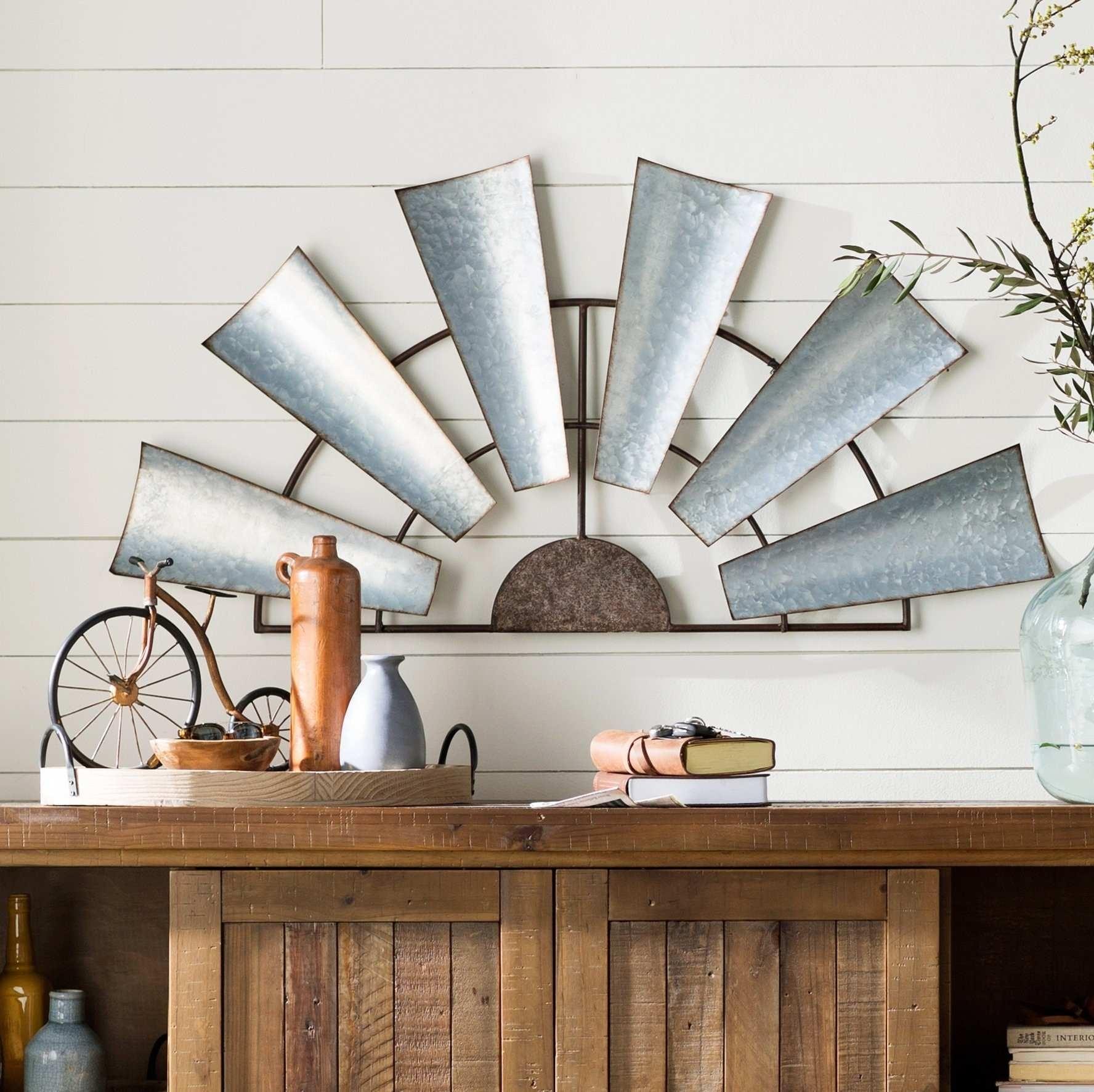 Metal Windmill Wall Decor Best Of Beautiful Half Windmill Wall Decor Inside Windmill Wall Art (View 5 of 20)
