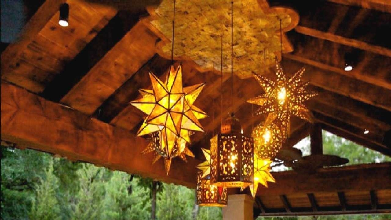 Mexican Style Pendant Lighting New Outdoor Hanging Lamps Wrought With Outdoor Mexican Lanterns (View 15 of 20)