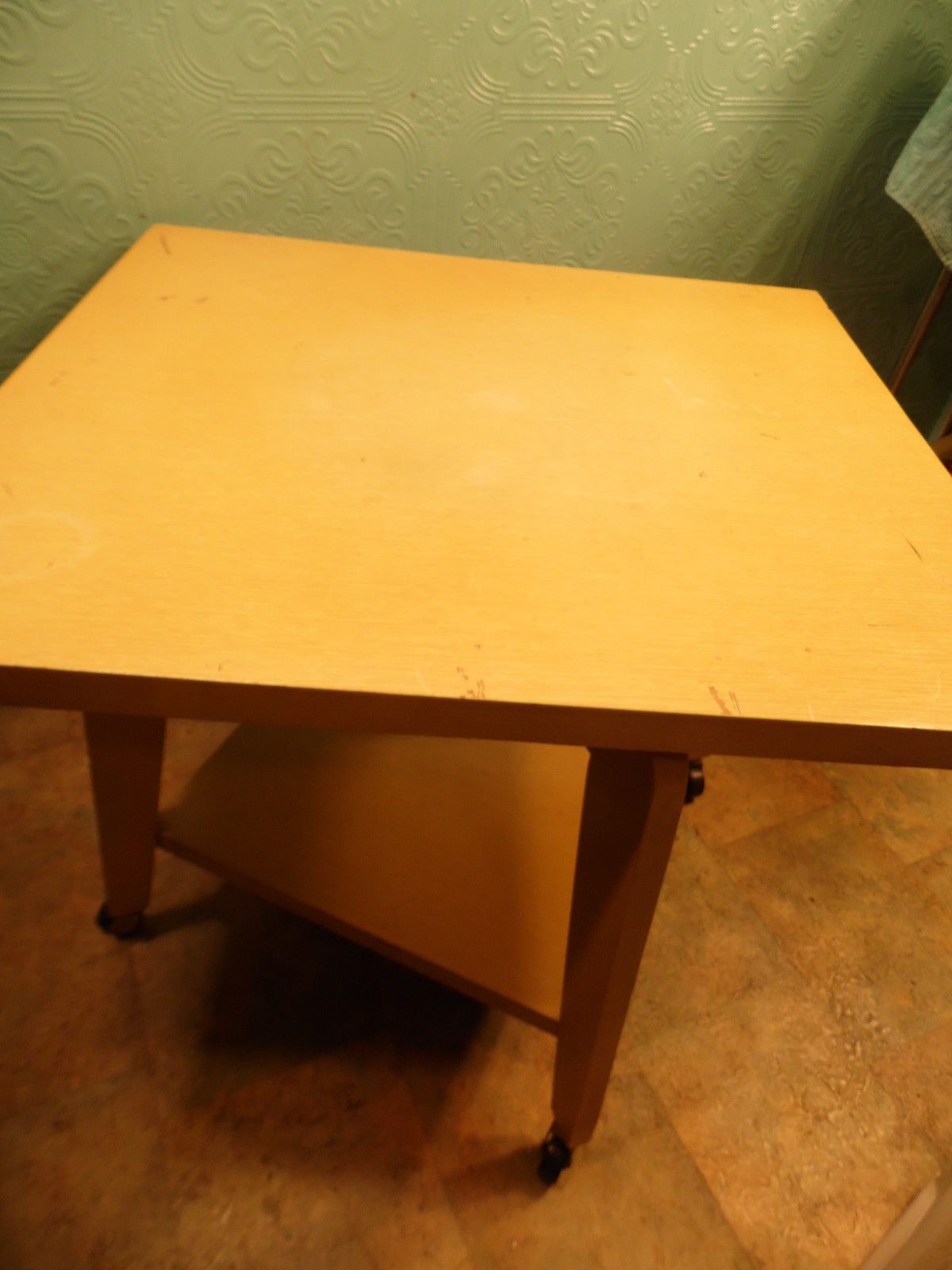 Mid Century Danish Modern Table With And 50 Similar Items With Regard To Spin Rotating Coffee Tables (View 14 of 30)