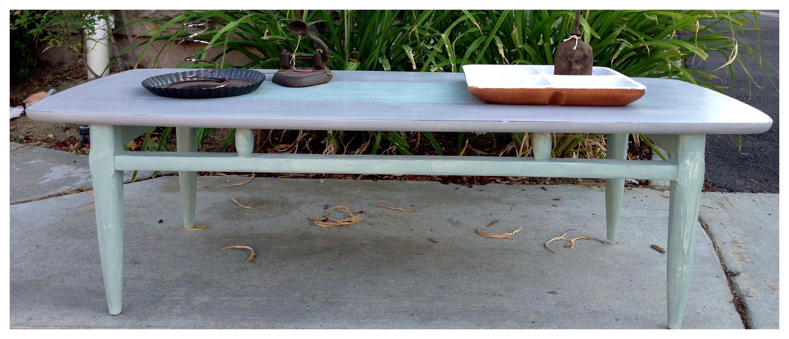 Mid Century Modern Coffee Table | The Calitexan pertaining to Mid-Century Modern Egg Tables (Image 7 of 30)