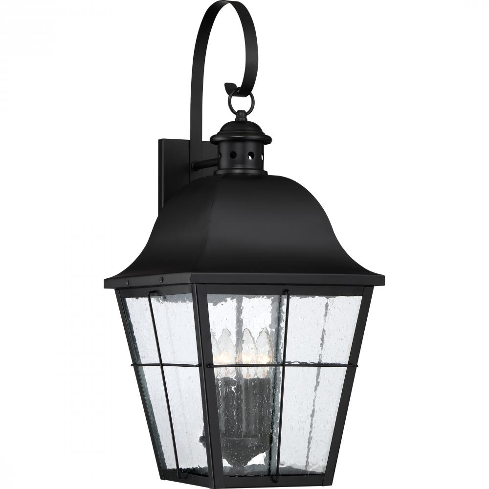 Millhouse Outdoor Lantern : Mhe8412K | Northern Lights And Furnishings inside Jumbo Outdoor Lanterns (Image 12 of 20)