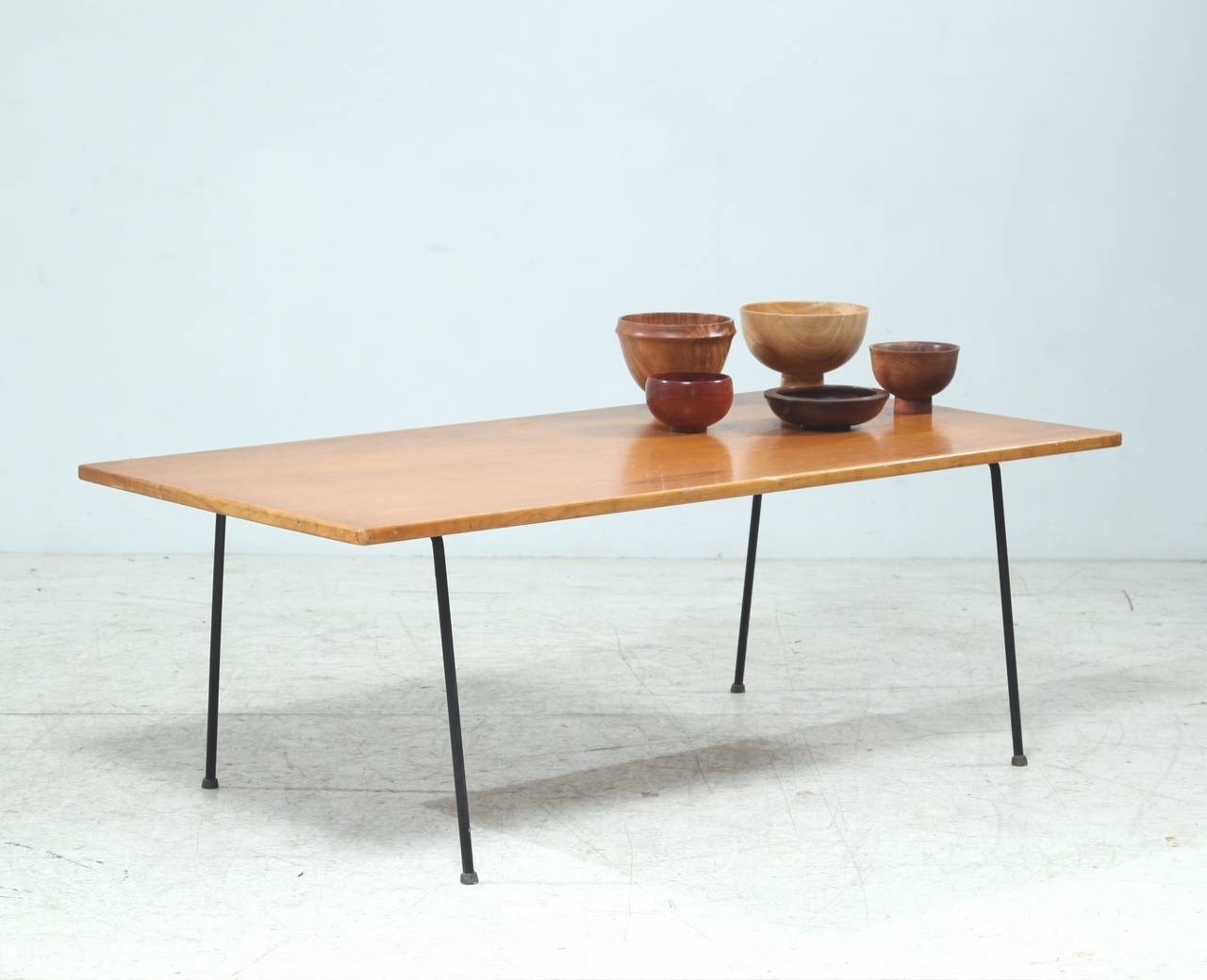 Minimalist Arden Riddle Coffee Table For Sale At 1Stdibs pertaining to Minimalist Coffee Tables (Image 13 of 30)
