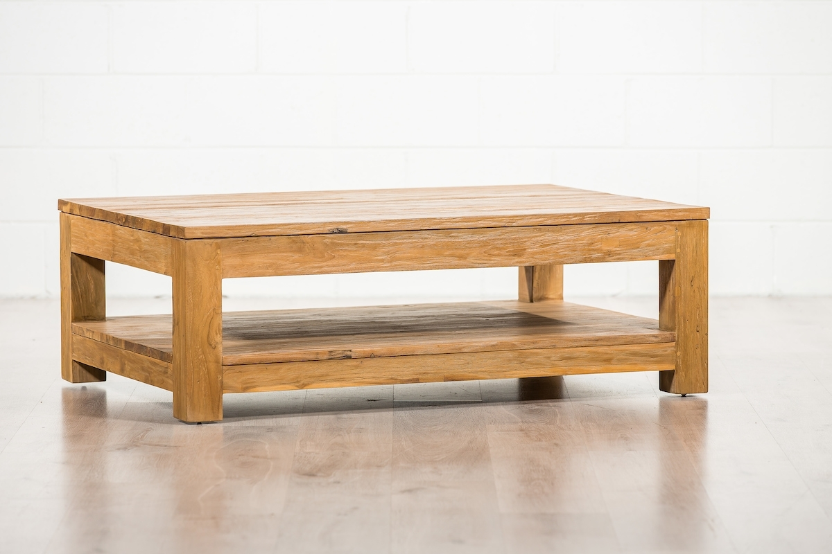 Minimalist Teak Coffee Table | Suasana | Furniture Brisbane & Gold Coast with Minimalist Coffee Tables (Image 23 of 30)
