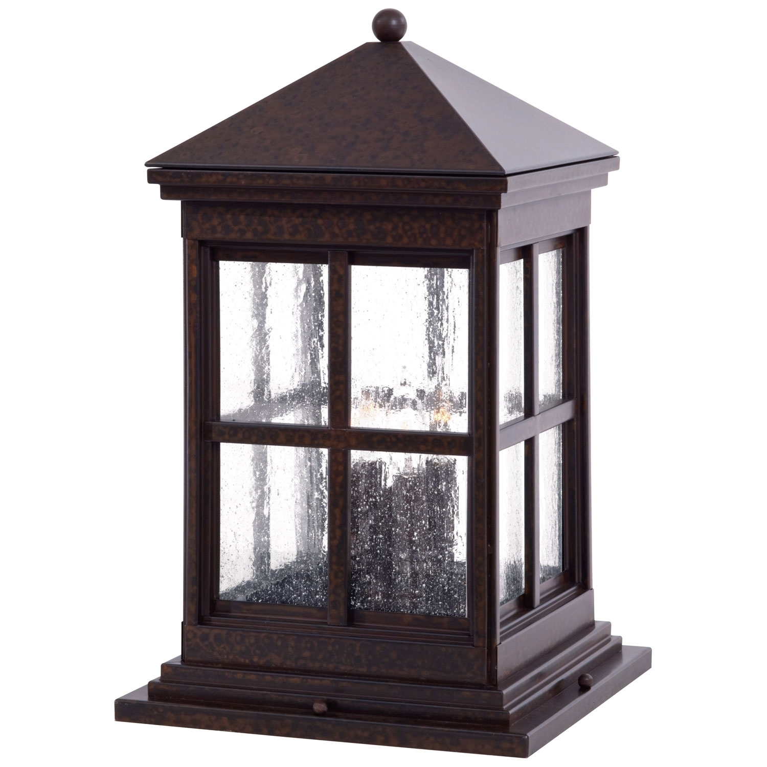 Minka Lavery Berkeley Column Mount Exterior Light 8567 51 | Bellacor with regard to Outdoor Post Lanterns (Image 9 of 20)