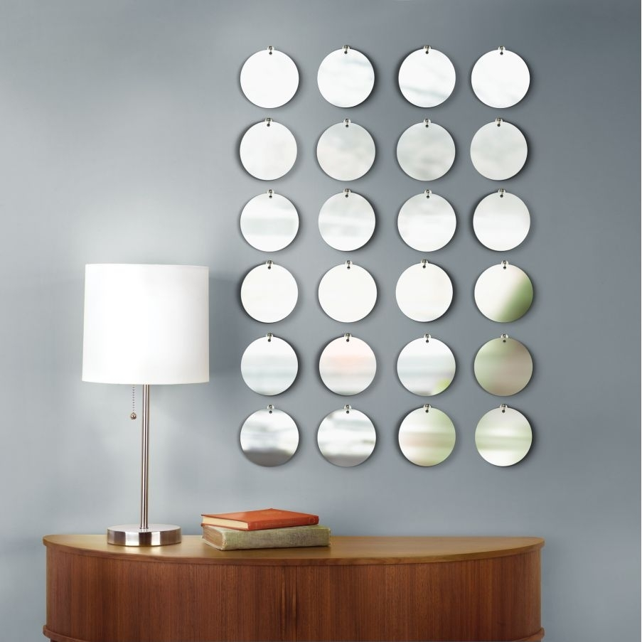 Mirrored Circles Wall Decor Amazing : Mirrored Circles Wall Decor Inside Circle Wall Art (View 19 of 20)