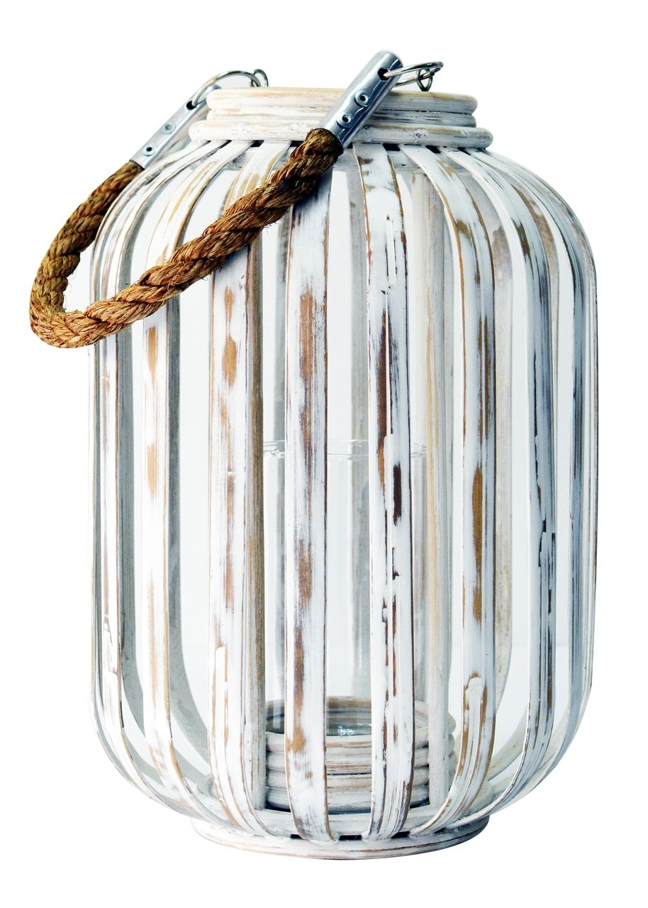 Moana Bamboo Lantern White | Outdoor Living | Pinterest | Moana Throughout Outdoor Bamboo Lanterns (View 14 of 20)