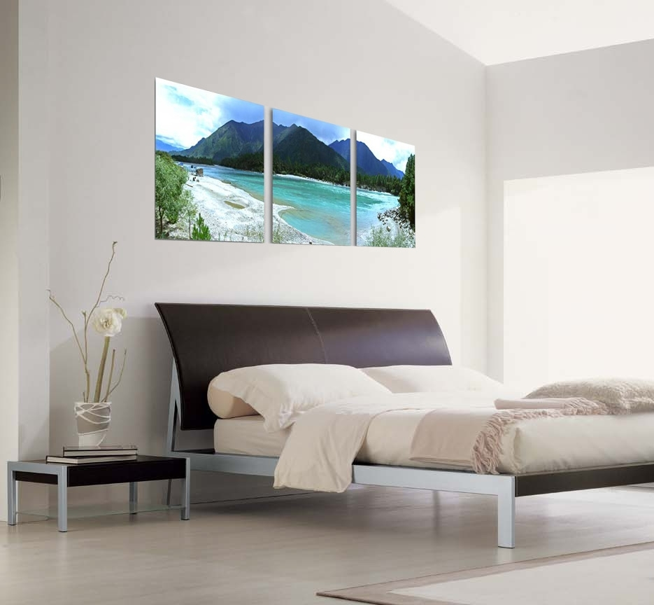 Modern Beach Life Photography 3-Piece Wall Art for 3 Piece Wall Art (Image 17 of 20)
