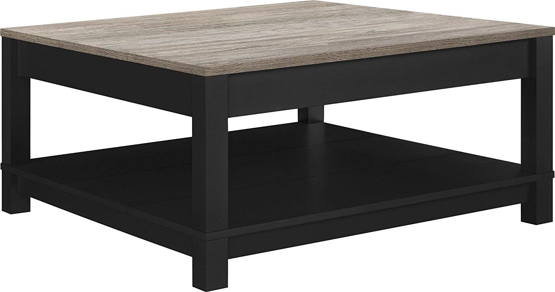Modern Black Coffee Table Regarding Darbuka Round Reviews Cb2 with regard to Darbuka Black Coffee Tables (Image 25 of 30)