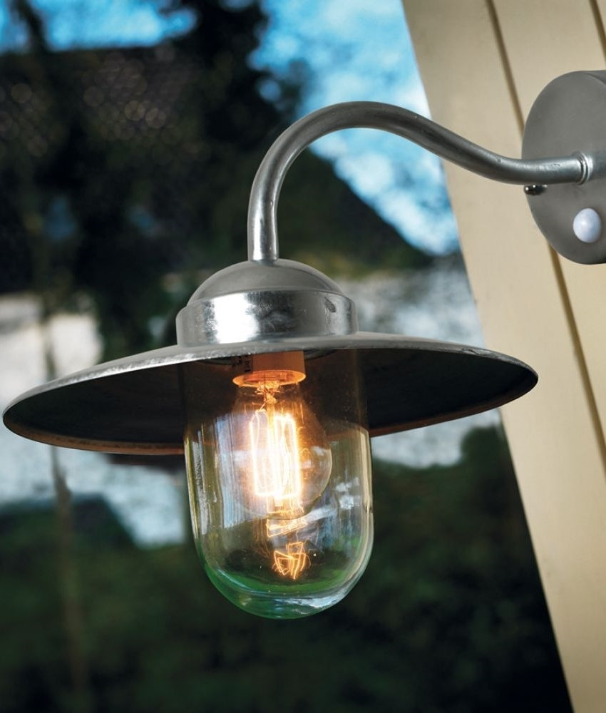 Modern Exterior Wall Mounted Lanterns | Lighting Styles inside Outdoor Mains Lanterns (Image 11 of 20)