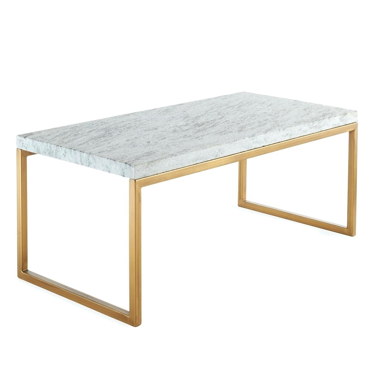 Modern Marble Coffee Table Wisteria Modern Marble Iron Coffee Table inside Modern Marble Iron Coffee Tables (Image 21 of 30)