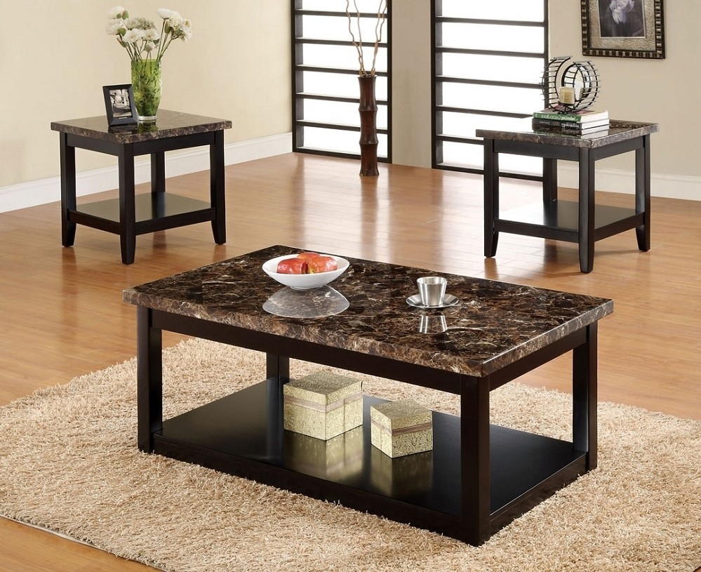 Modern Marble Top Coffee Table — New Home Design : Design And Ideas within Modern Marble Iron Coffee Tables (Image 22 of 30)