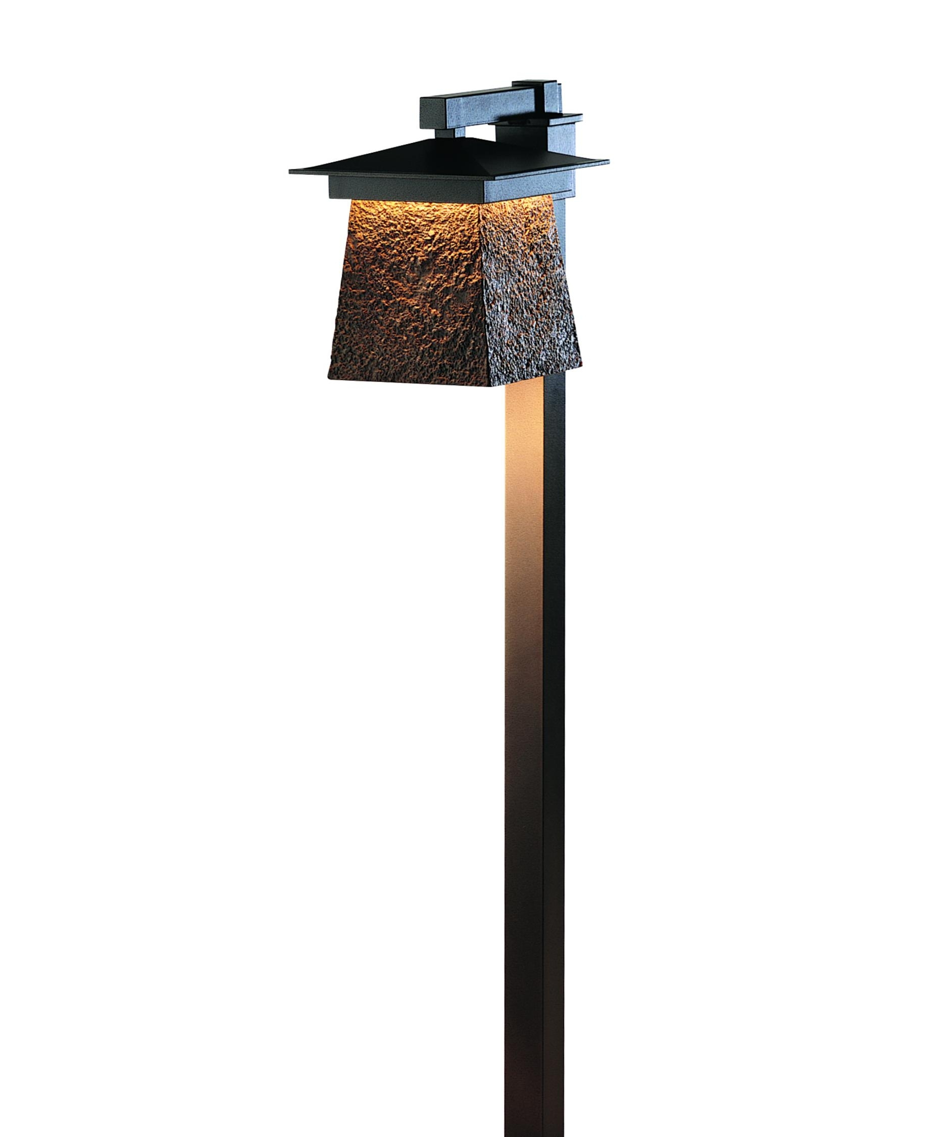 Modern Outdoor Light Posts Exterior Lamp Outside Hubbardton Forge inside Outdoor Lanterns for Posts (Image 7 of 20)