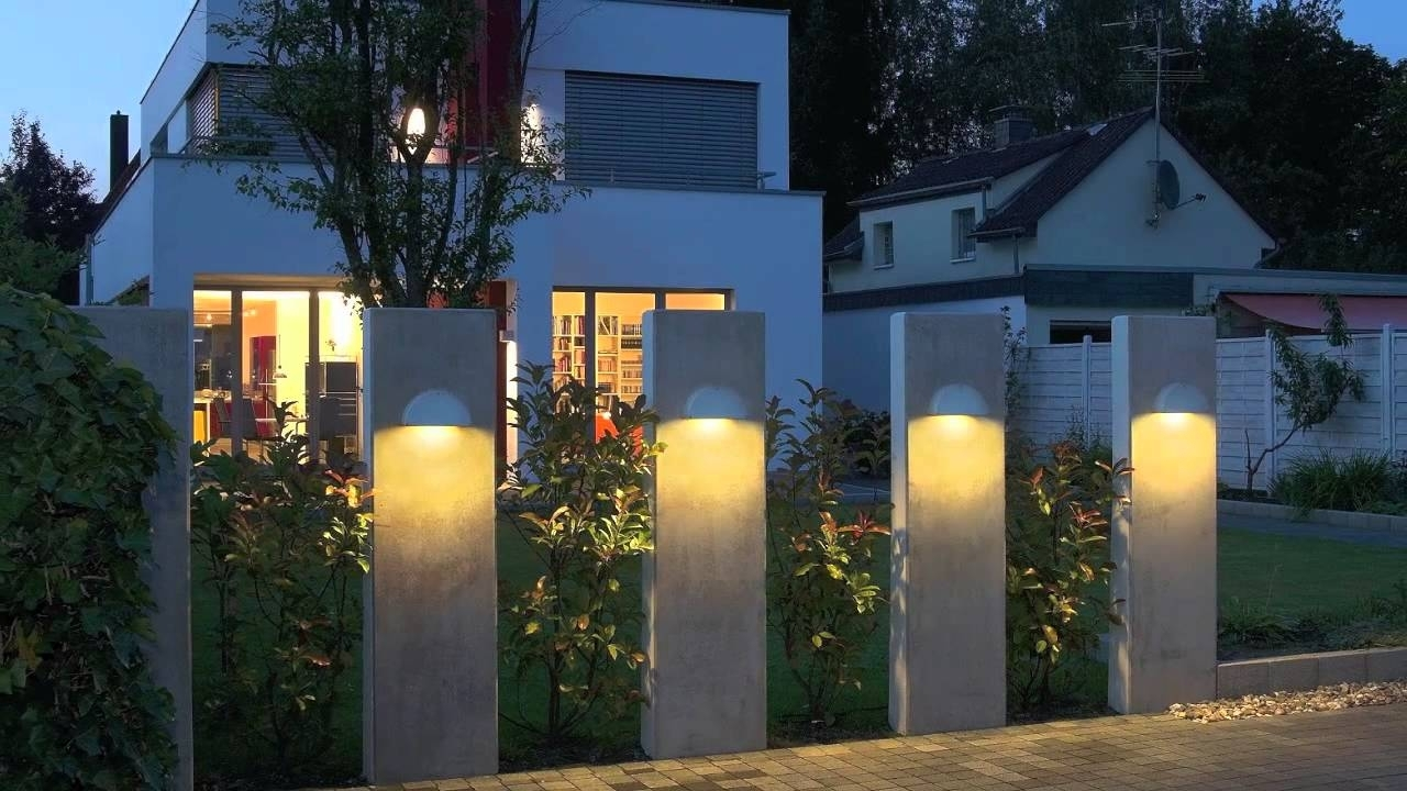 Modern Outdoor Lighting Fixture Design Ideas - Youtube with Outdoor House Lanterns (Image 13 of 20)