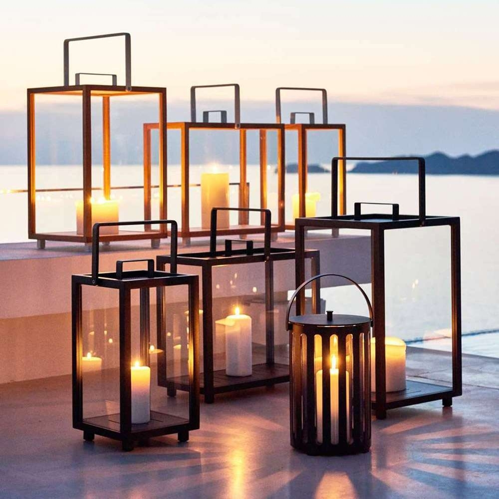 Modern Outdoor Table Lanterns - Outdoor Ideas in Modern Outdoor Lanterns (Image 14 of 20)