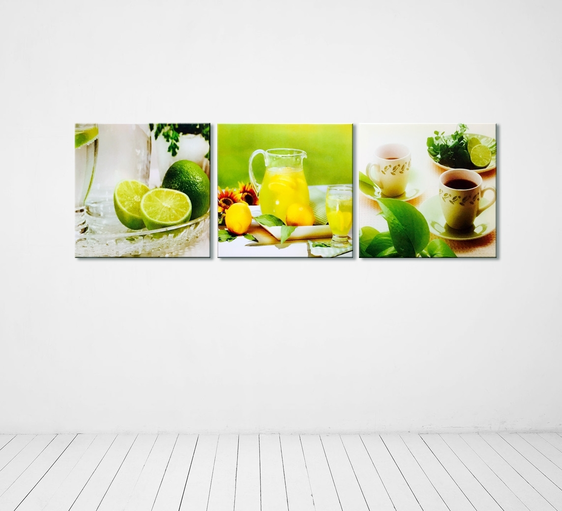 Modern Photography Kitchen Wall Decor Multi Piece Canvas For Kitchen Canvas Wall Art Decors (View 6 of 20)