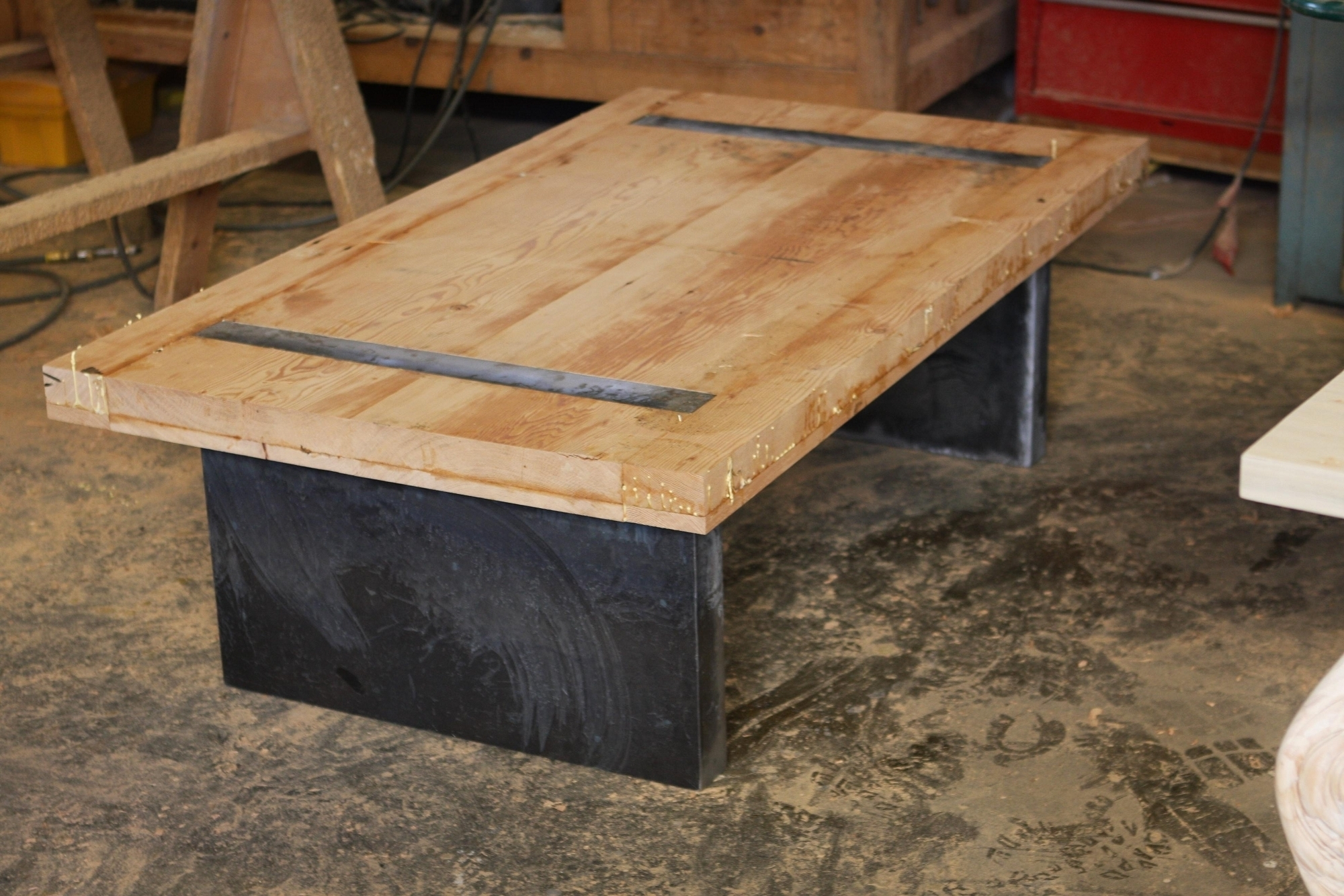 Modern Rustic Coffee Table - Coffee Table Ideas throughout Modern Rustic Coffee Tables (Image 12 of 30)