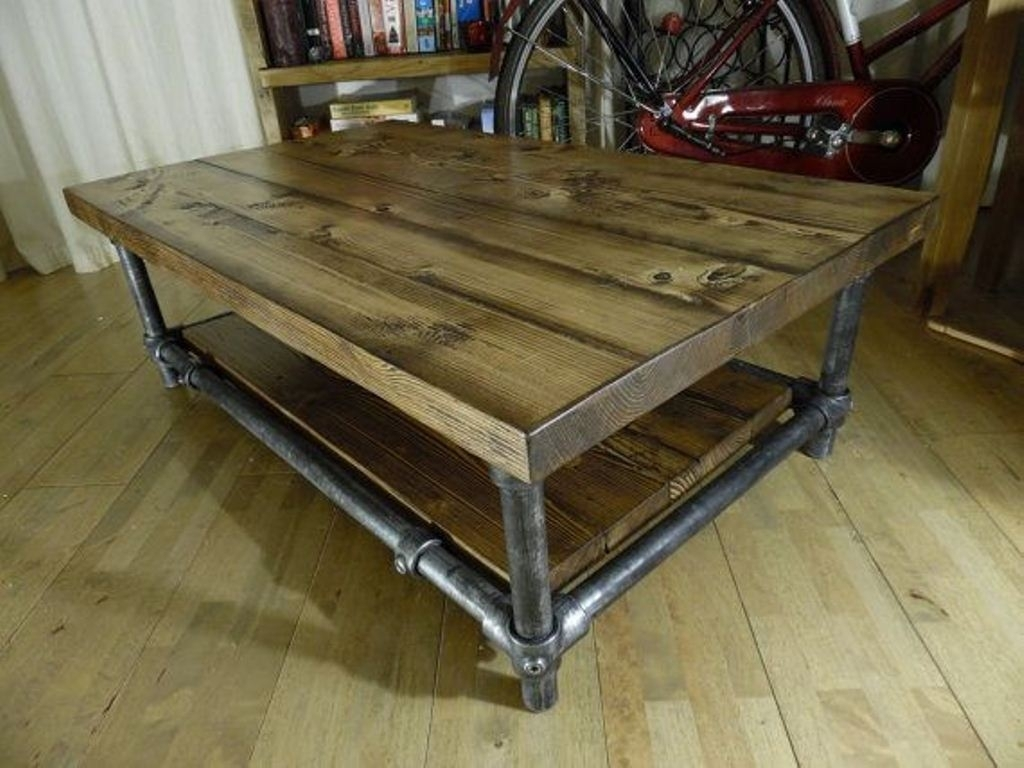 Modern Rustic Coffee Table – Interior Home Design Pertaining To Modern Rustic Coffee Tables (View 9 of 30)