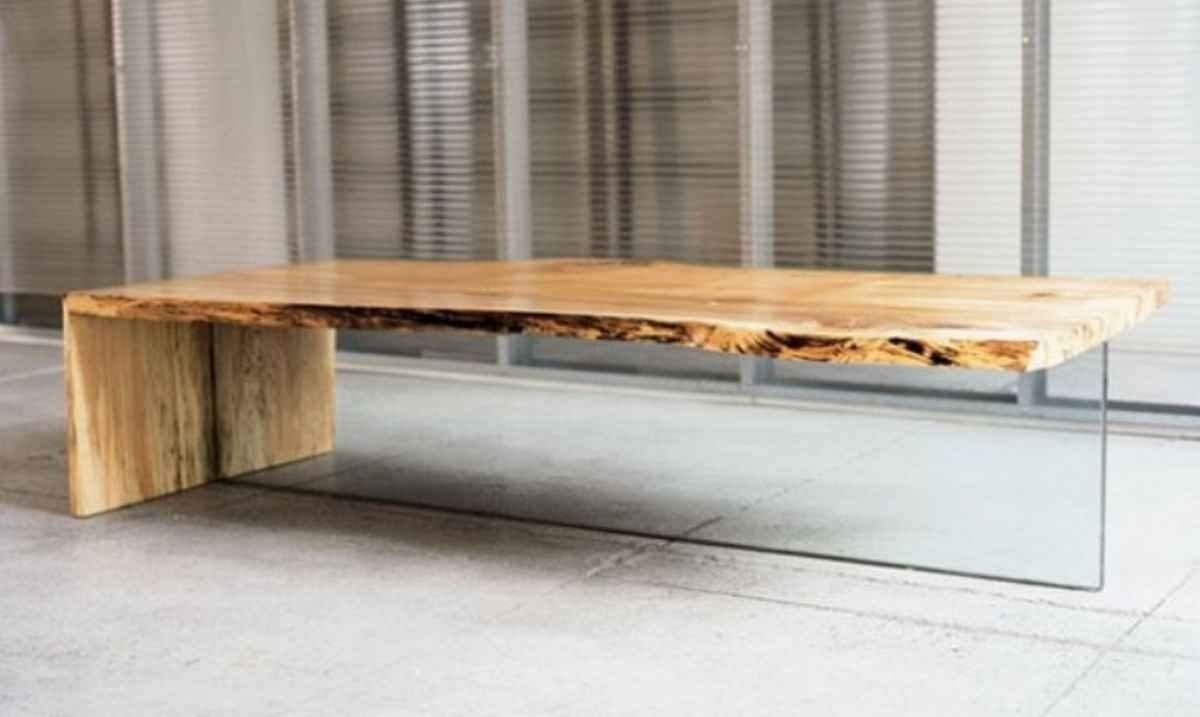Modern Rustic Wood Coffee Table Coffee Table Interesting Modern intended for Modern Rustic Coffee Tables (Image 17 of 30)