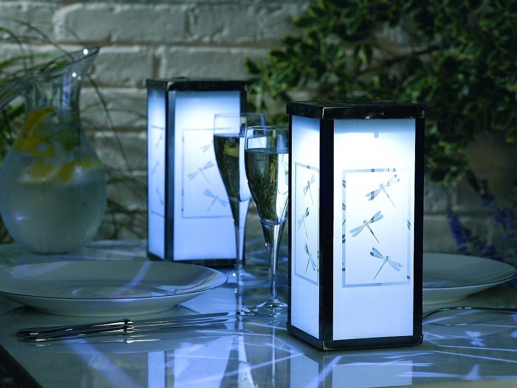 Modern Solar Outdoor Lanterns : Life On The Move – Solar Outdoor Within Outdoor Lanterns For Tables (View 6 of 20)