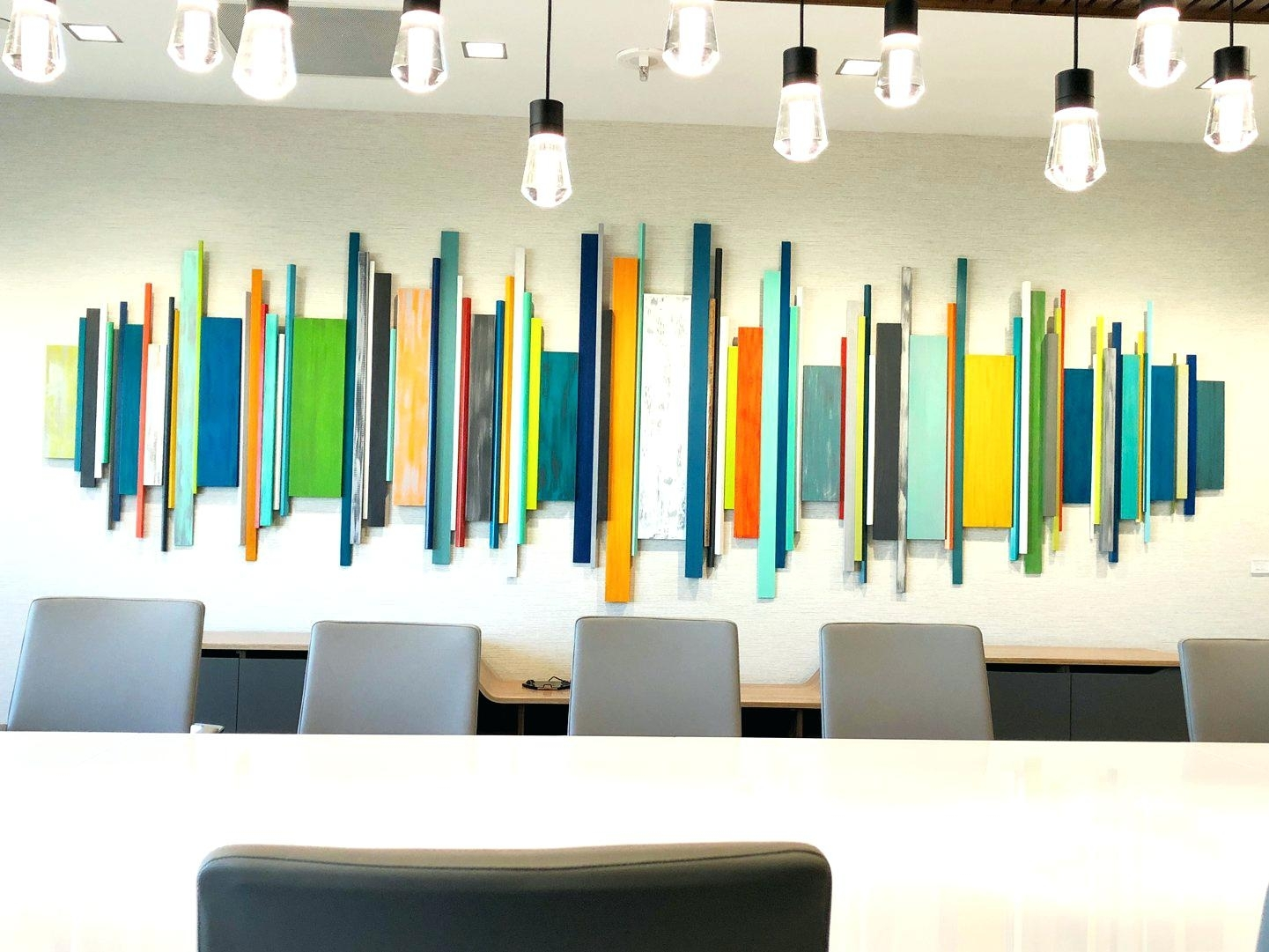 Modern Wall Art Image Of Corporate Artwork Office Wall Decor Wood In Contemporary Wall Art Decors (View 19 of 20)