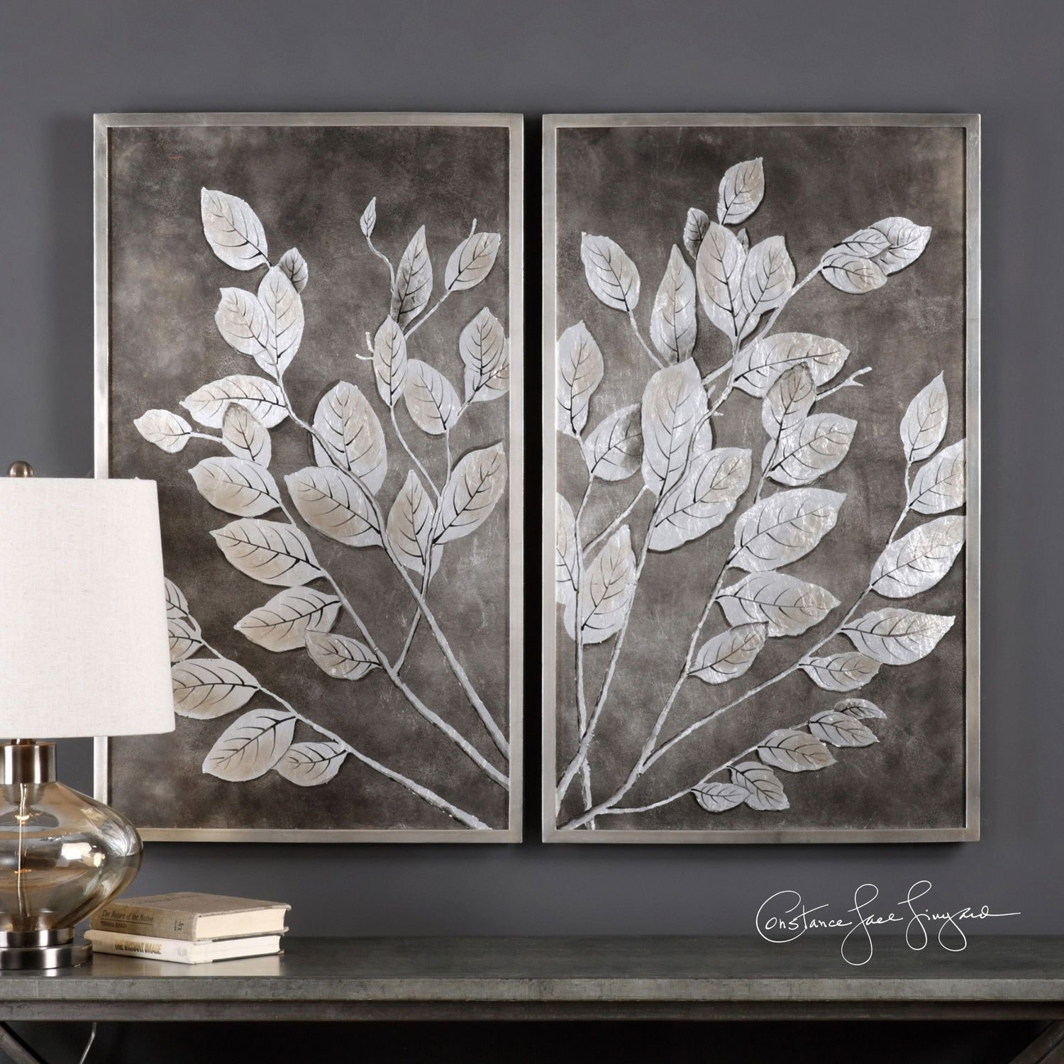 Money Tree Framed Art, Set Of 2 Uttermost Wall Art Wall, Framed Wall For Set Of 2 Framed Wall Art (View 9 of 20)