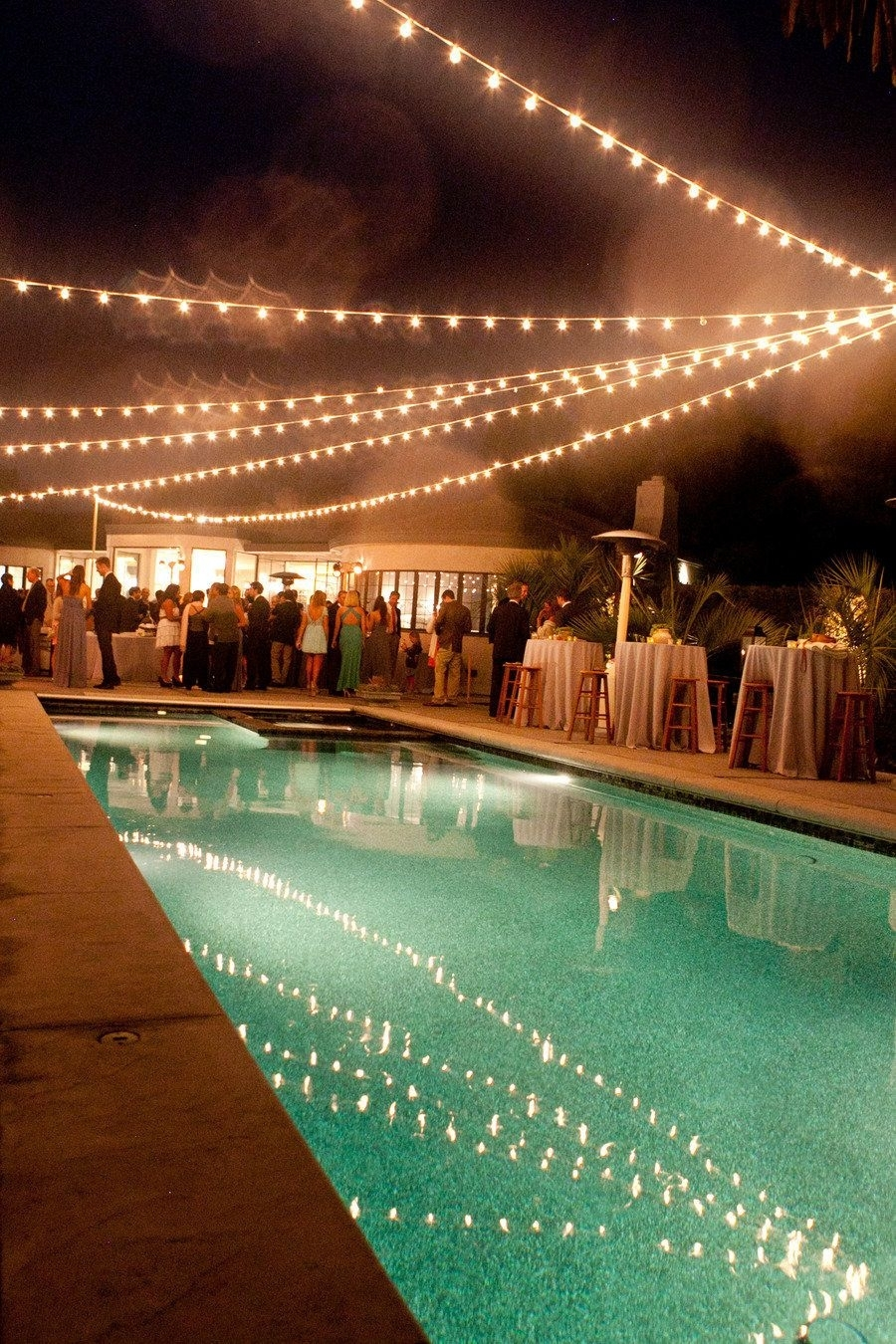 Montecito Wedding From Tobin Photography + Bella Vista Designs throughout Outdoor Pool Lanterns (Image 17 of 20)
