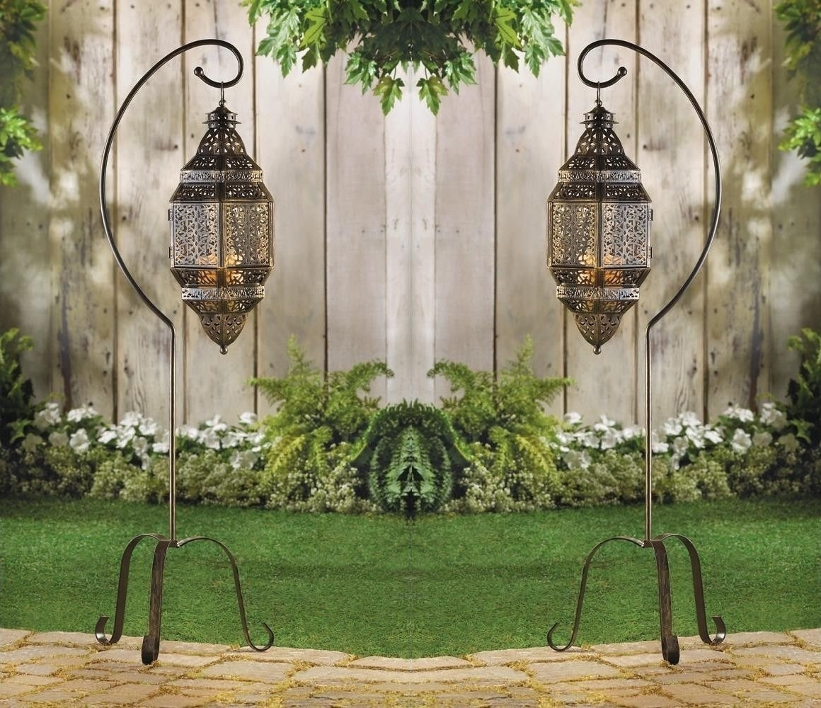 Moroccan Home Decor Ideasdecor Snob throughout Moroccan Outdoor Electric Lanterns (Image 13 of 20)