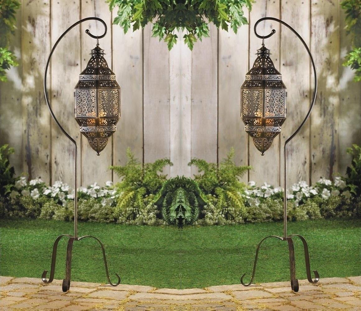 Moroccan Home Decor Ideasdecor Snob within Moroccan Outdoor Lanterns (Image 12 of 20)
