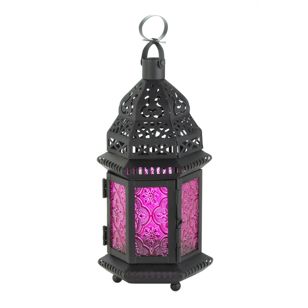Moroccan Lantern Lamp, Rustic Decorative Outdoor Lanterns Table Lamp Within Outdoor Lanterns For Tables (View 8 of 20)
