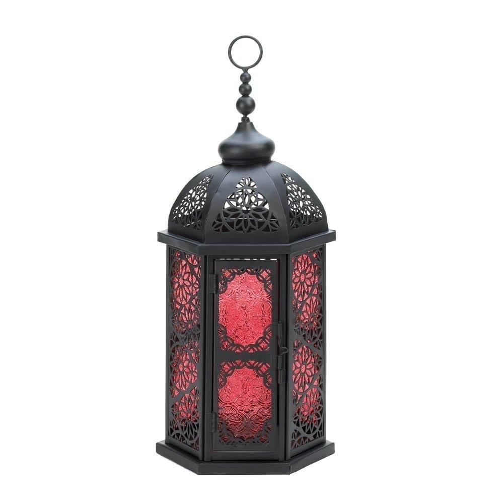 Moroccan Lantern Lights, Decorative Large Rustic Outdoor Lanterns within Moroccan Outdoor Lanterns (Image 17 of 20)