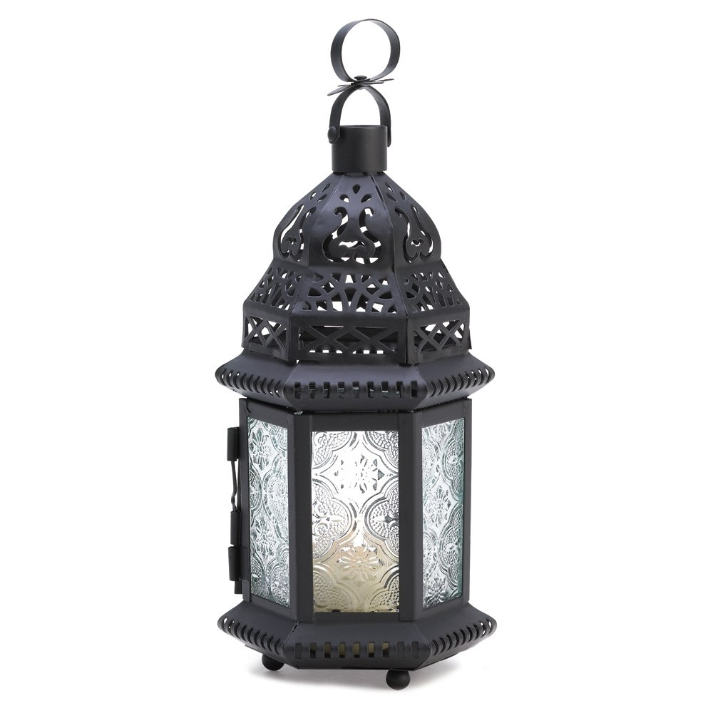 Moroccan Lantern Lights, Decorative Rustic Outdoor Lanterns For for Outdoor Lanterns And Candles (Image 15 of 20)